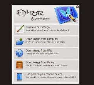 افضل موقع للكتابة علي الصور اون لاين بخط عريض pixlr.com/editor