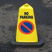 nie parkować podczas imprezy
