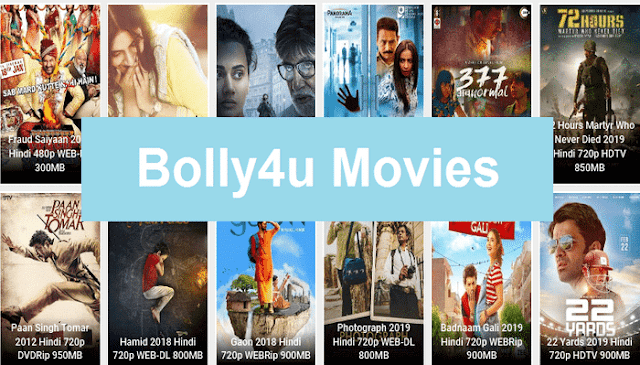Bolly4u 2019 - Download HD 720P Bollywood, Hollywood, Movies