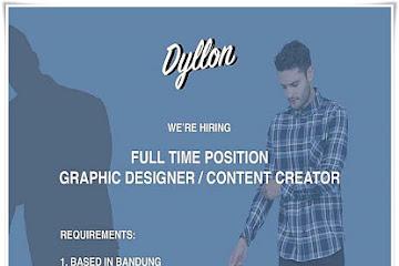 Lowongan Kerja Bandung Graphic Designer & Content Creator Dyllon