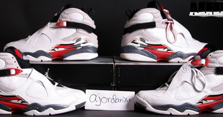 new product 4ee85 f251e ajordanxi Your  1 Source For Sneaker Release Dates  Air Jordan VIII Retro  White Black-True Red (2003)