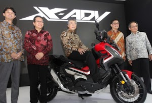 Big Bike Adventurer Honda X-ADV Starts Marketed in Indonesia