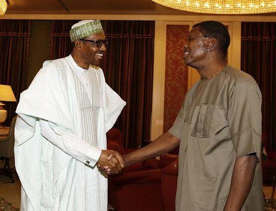 president buhari and pastor adeboye