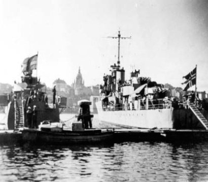 17 March 1941 worldwartwo.filminspector.com KNM Arendal