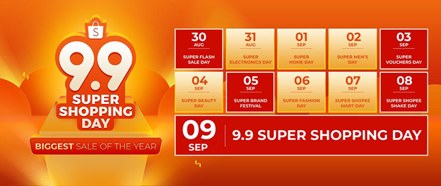 Shopee biggest online shopping sale of the year