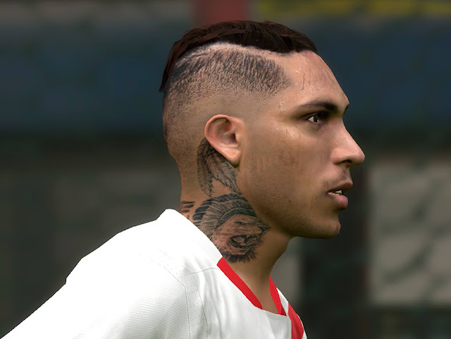 PES 2017 Paolo Guerrero face by facemaker edu