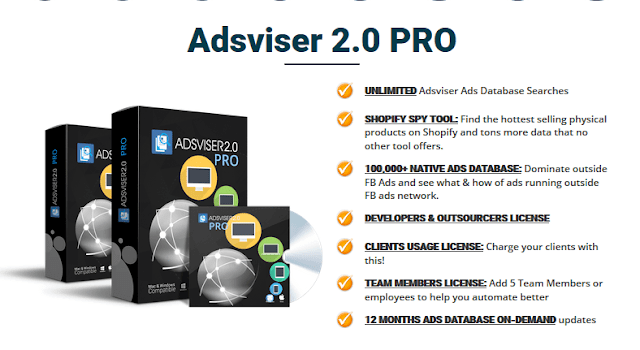 Adsviser 2.0 | Facebook Ads Research Tool | Adsviser 2.0 Review
