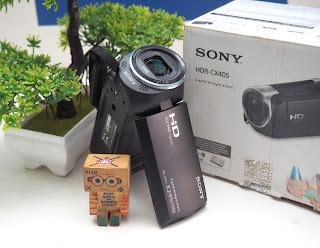 Jual handycam Sony HDR - CX405 Bekas