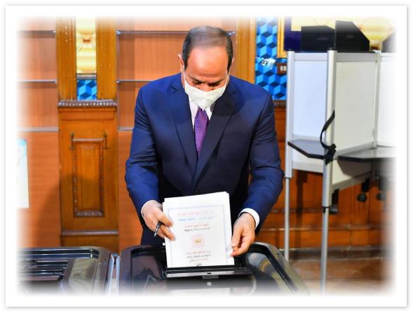 انطلاق عملية التصويت في جولة الإعادة لانتخاب أعضاء مجلس الشيوخ في مصر