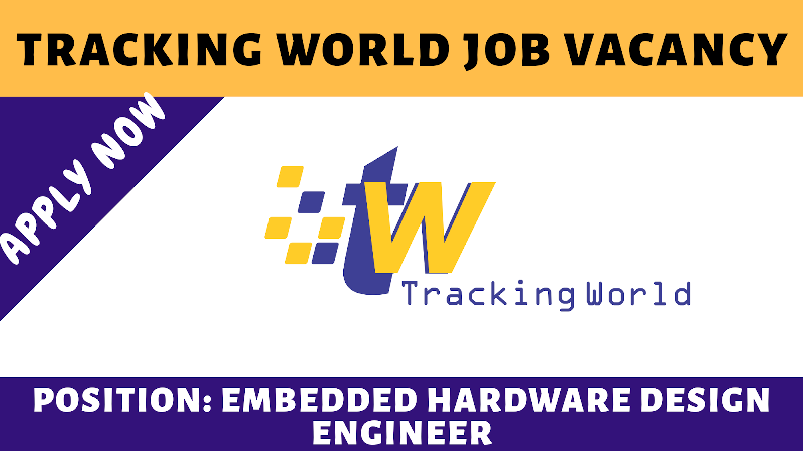 Tracking World Job Embedded Hardware Design Engineer 2019 Engineering Career Opportunities