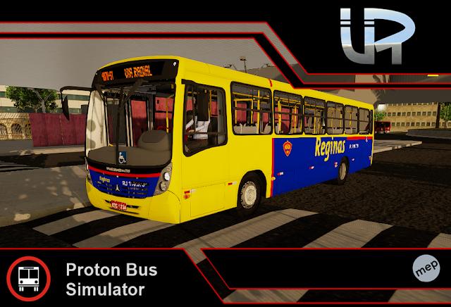 Skin Proton Bus Simulator - Mega2006 mb OF-1722M Reginas