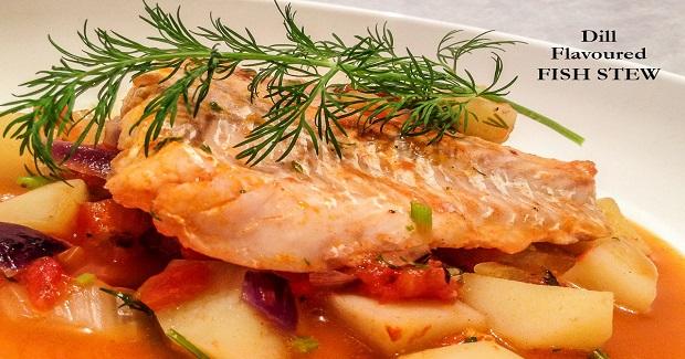 Dill Flavored Fish Stew Recipe