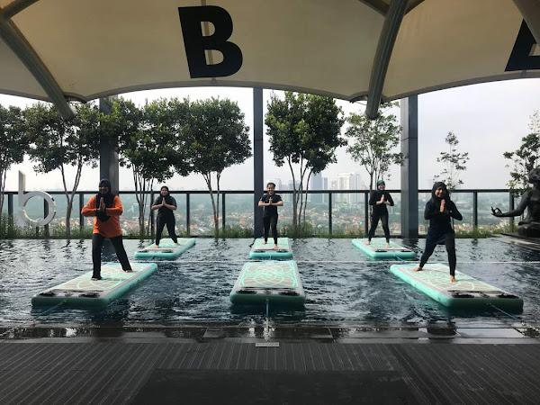 Boga Fit - yoga atas air