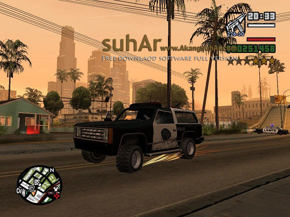 Download GAME PC Grand Theft Auto San Andreas Full Version Game