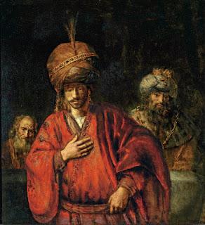 美術館 情報サイト アートアジェンダ レンブラント・ハルメンスゾーン・ファン・レイン《運命を悟るハマン》1660年代前半