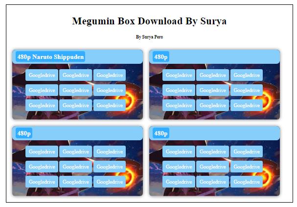 Cara Membuat Megumin Box Download
