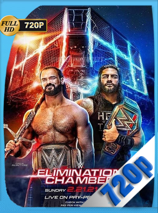 WWE: Elimination Chamber (2021) 720p WEB-DL Latino [GoogleDrive] [tomyly]