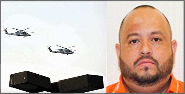 """""""BUSCABAN al TANGO-1 ?"""": HELICOPTEROS de la MARINA SOBREVUELAN MONTERREY DONDE """"YA DESPACHA"""" de JEFE de PLAZA del CDG"""
