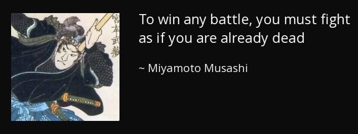 musashi already dead quote