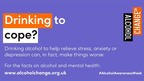 Alcohol Awareness Week 191120 Don't drink to cope