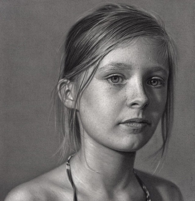 Реалистичные рисунки карандашом. Dirk Dzimirsky 25