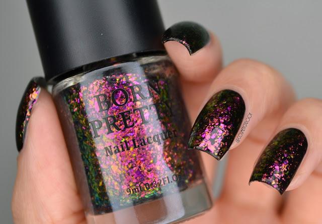 Born Pretty Violet Galaxy Swatch