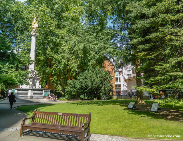 Jardim da Catedral de Saint Paul, Londres