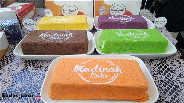 Madinah Cake, Oleh-oleh Bandung Terbaru Dari Si Cantik Angel Lelga