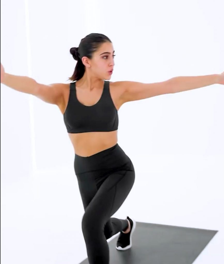Pic of the day: Sara Ali Khan Is Giving Unbelievable Fitness Goals