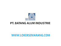 Lowongan Kerja Supervisor Sales di Kantor Cabang PT Batang Alum Industrie Semarang