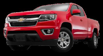 2016 Chevrolet Colorado facelift