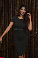 Priya Vadlamani super cute in tight brown dress at Stone Media Films production No 1 movie announcement 035.jpg