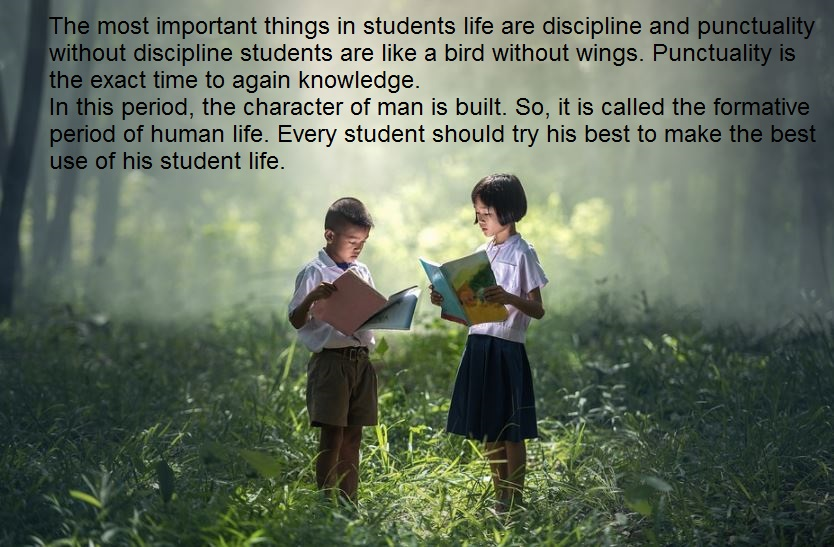 importance of discipline in students life