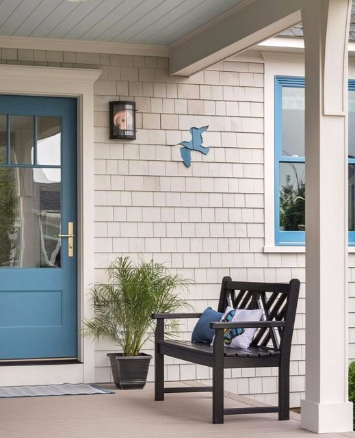 Coastal Mosaic Shingle Art For Your House Exterior