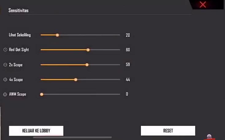 Sensitivitas Fdw Terbaik 2020 Auto Headshot