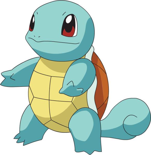 pokémon água squirtle