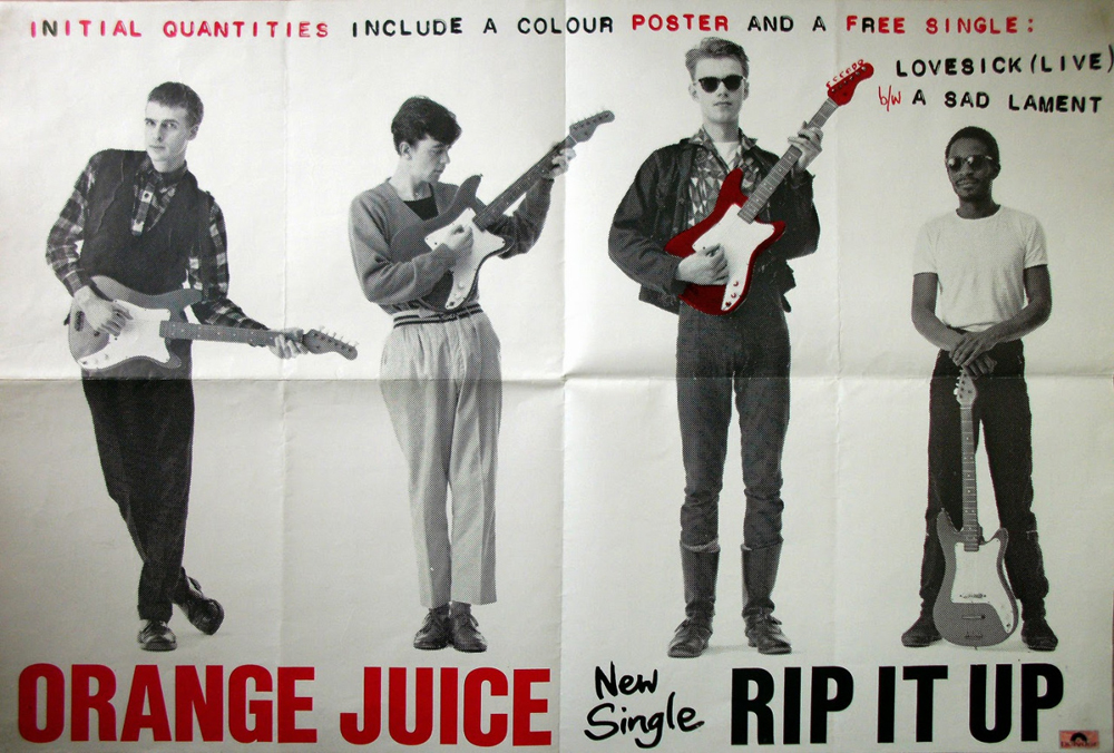 Orange Juice Rip It Up