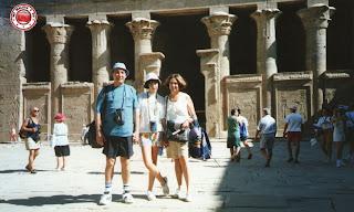 En Edfu, Egipto