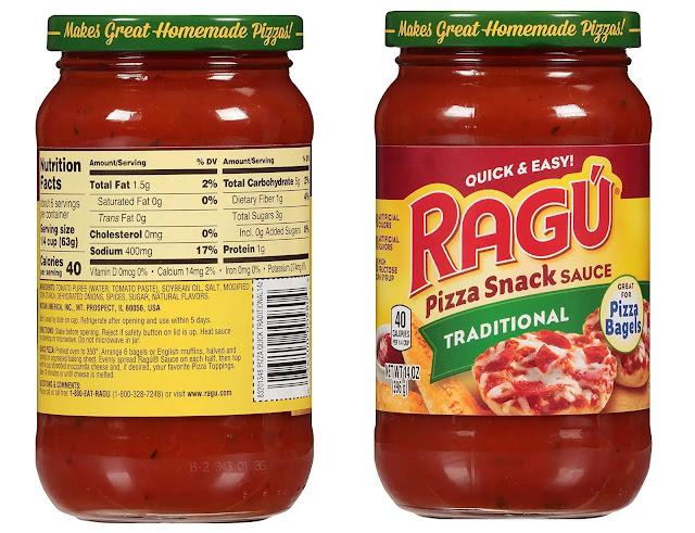 1- Ragu Pizza Quick Snack Traditional