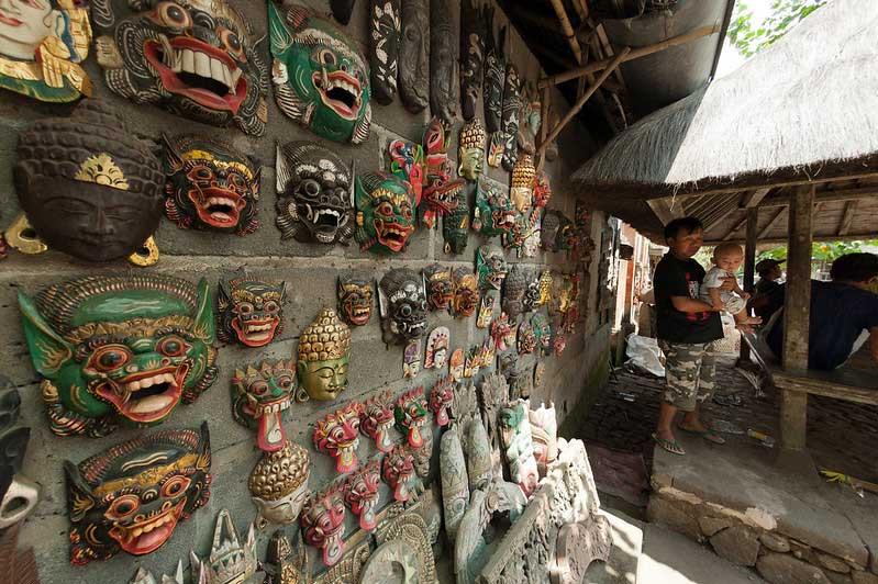 Fasilitas Wisata di Tenganan Karangasem Bali