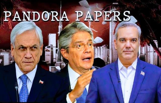 Los presidentes Sebastián Piñera, Guillermo Lasso y Luis Abinader operaron con sociedades offshore en paraísos fiscales