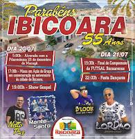 Ibicoara 55 Anos festa em comemoração ao aniversário da cidade