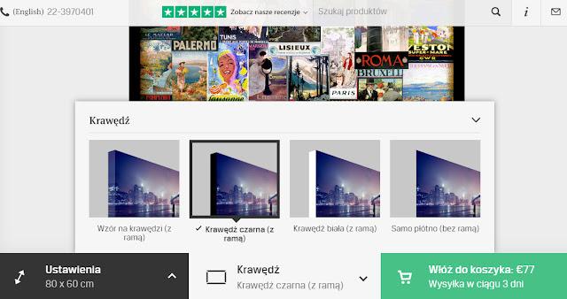 Photowall wybór  obrazu
