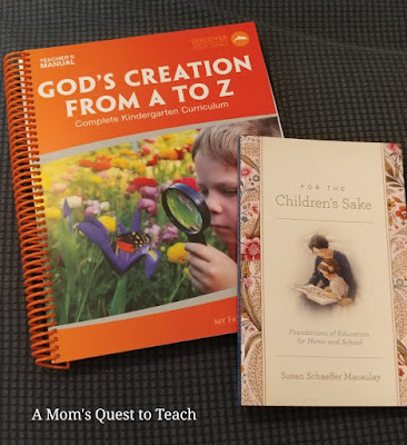 My Father's World God's Creation From A To Z book and For the Children's Sake bookcover