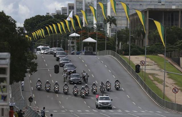 Contagem regressiva para a posse do presidente Jair Bolsonaro