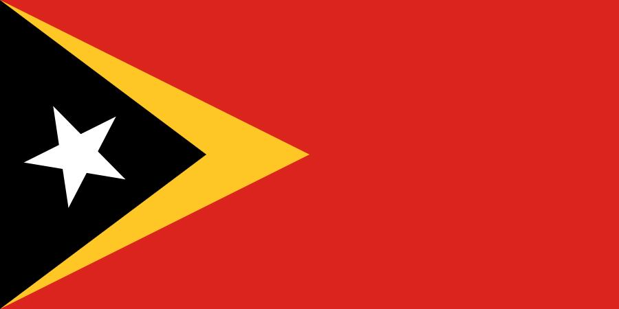 bandera amarilla verde con estrella roja