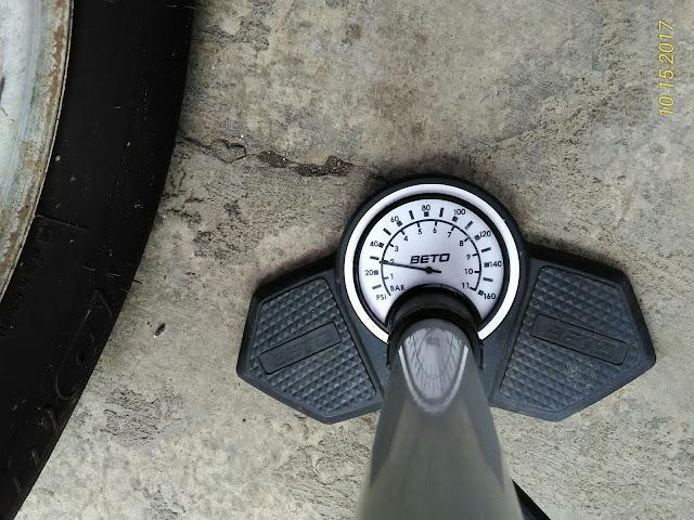 pompa, angin, tekanan, udara, indikator, ukuran, ban, berapa