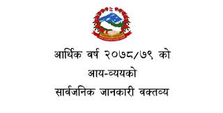 Nepal Budget 2021 Nepal ko Budget 2078/2079 PDF