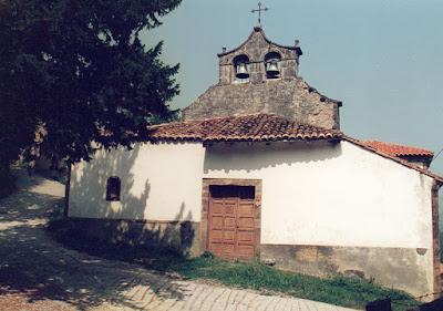 Aller, Conforcos, iglesia, Asturias, San Miguel