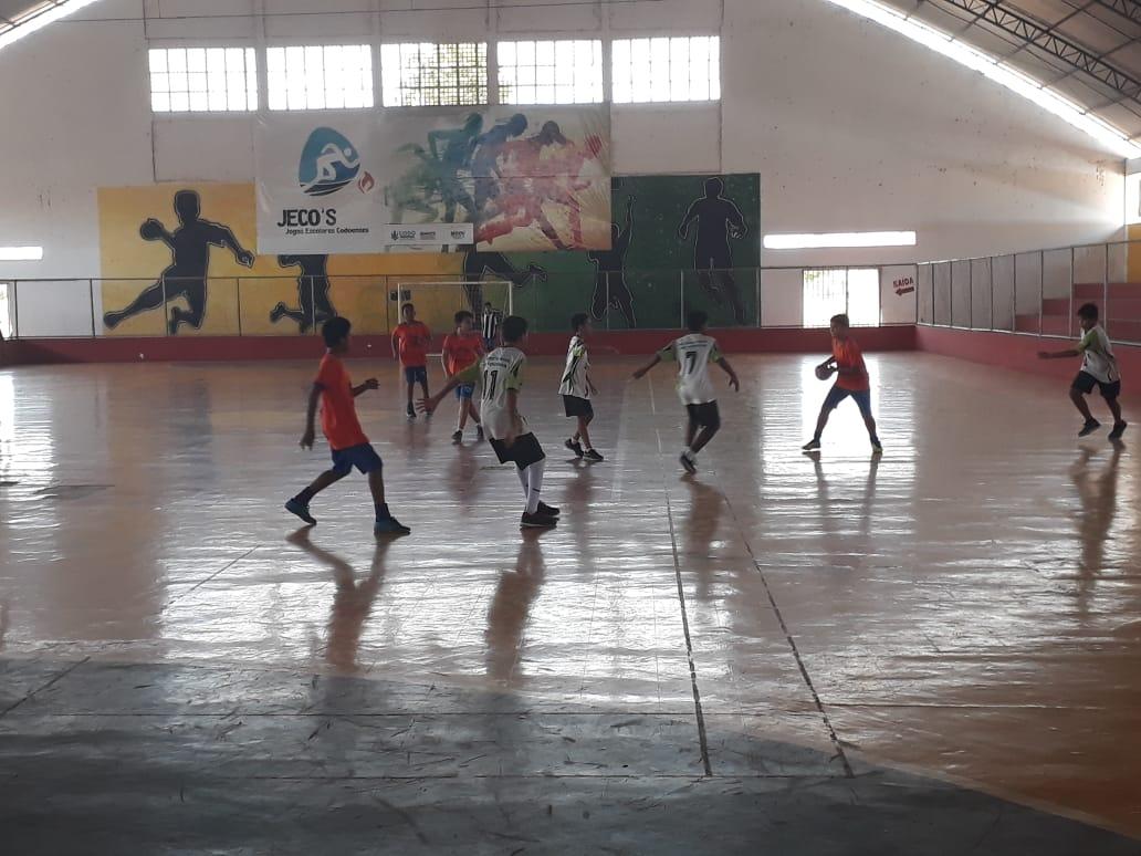 Jogos Escolares Codoenses Mirins 2018 lotam o ginásio Carlos Fernando b10f145bdd6aa